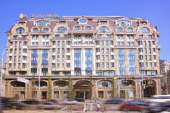 InterContinental Kiev facade