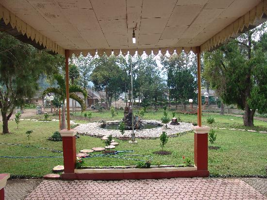 Catimore Homestay: View out the front door of the homestead