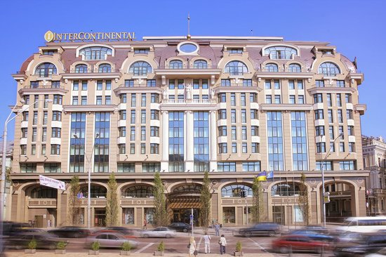 InterContinental Kiev: Facade_main