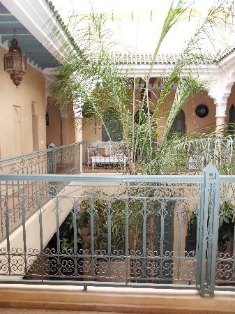 Riad Kerdouss: le patio