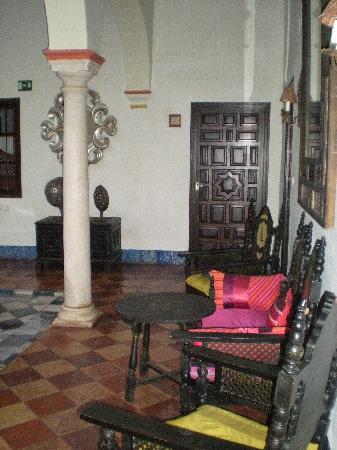 Hotel Posada de Palacio: Atrium