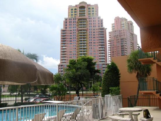 Lafayette Motel: vue de la piscine