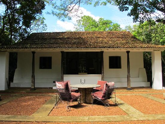 Bawa House 87: The second living quarters...