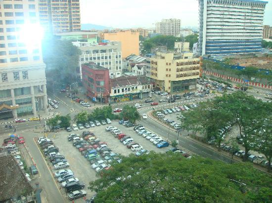 Hotel Nova: View from my room window