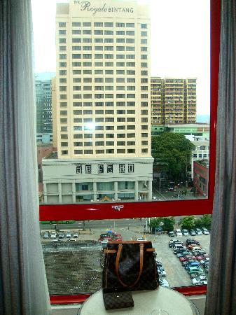 Hotel Nova: View directly opposite my room window