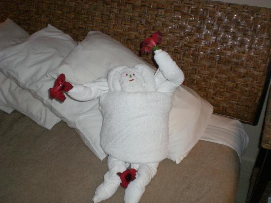 منتجع إيبروتيل لميا: Some of the crazy towel art