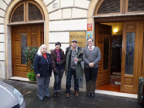 Welrome Hotel: Mary & Carlo