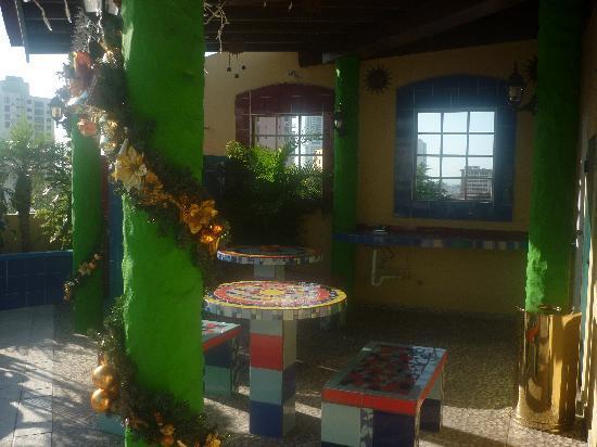 Hotel California: para pasar un momento de tranquilidad en la terraza