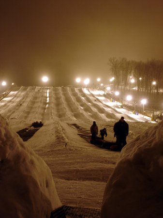 Bellefontaine, OH: Avalanche Tube Hill