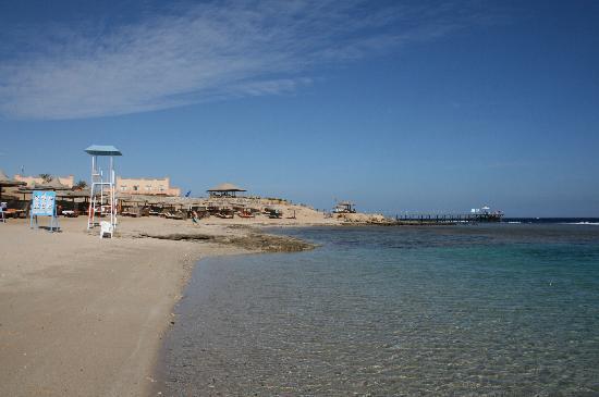 LTI Akassia Beach : la plage de l'hôtel