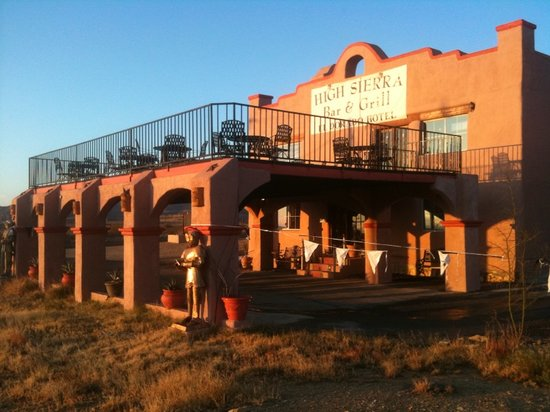 Terlingua, TX: High Sierra Bar & Grill @ El Dorado