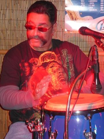 Gary Lee Rodriguez on drums