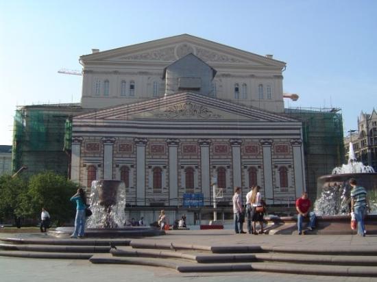 Bolshoi Theatre: Boljšoj teatar - u rekonstrukciji