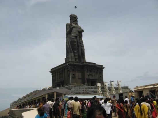 Thiruvalluvar Statue Photo