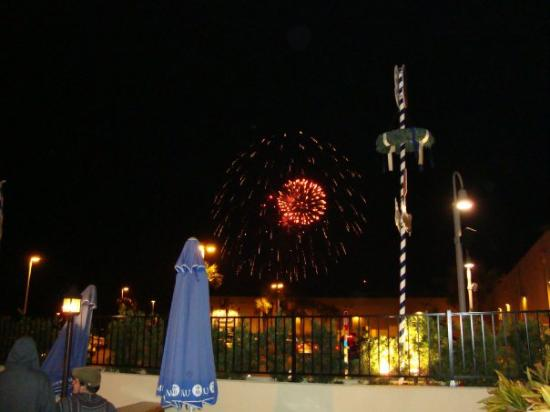 Fireworks show at Pier Park.