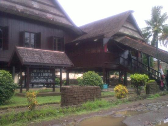Makassar, Indonesia: Balla Lompoa, rumah adat Kerajaan Gowa