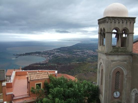 From Castelmola Sicily