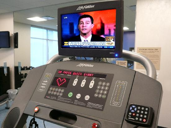 SpringHill Suites Irvine John Wayne Airport/Orange County: Exercise equipment each with HD TV