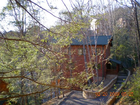 Gatlinburg Falls Resort: Views from the cabin