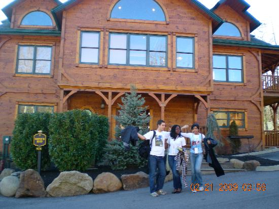Gatlinburg Falls Resort: The cabin