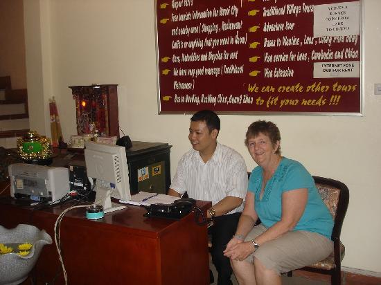 Hanoi Phoenix Hotel : Kelvin the worker
