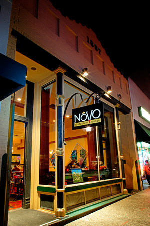 Novo Restaurant & Lounge: Front Entrance, 726 Higuera