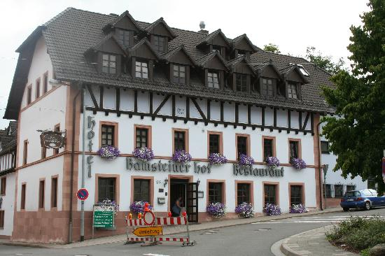 Ramsteiner Hof : The front of the Hotel