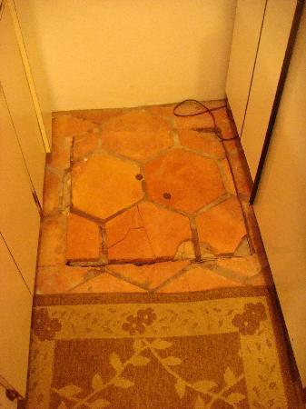 Elm Beach Suites: The Kitchen Floor