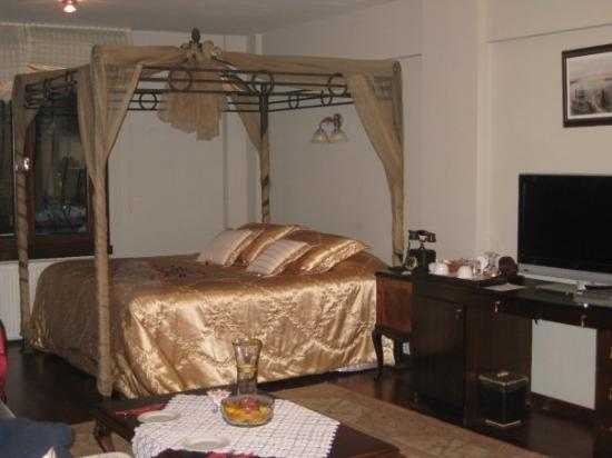 Villa Sphendone Suites: Really beautifully but still comfortable furnished.