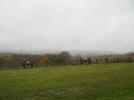 Antietam National Battlefield: Gunposition at Antietam