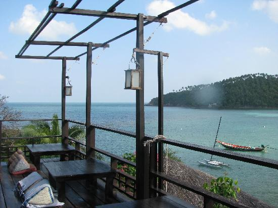 Cookies Bungalow: View from the restaurant's deck