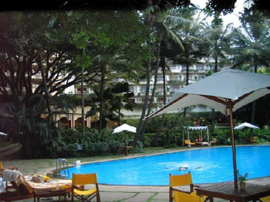 The Oberoi, Bengaluru : The swimming pool from our room