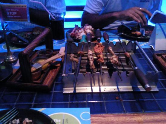 Barbeque Nation : Normal Table