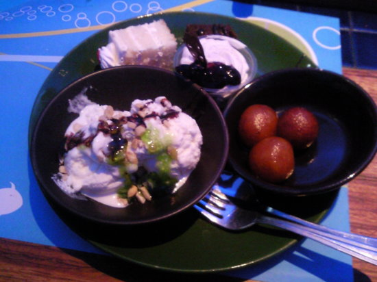 Barbeque Nation : Dessert - at the end