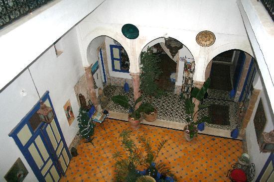 Riad Safi : Le patio