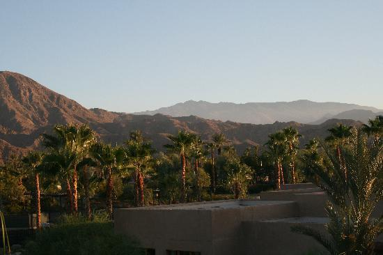 Indian Wells, Californië: the view from our room