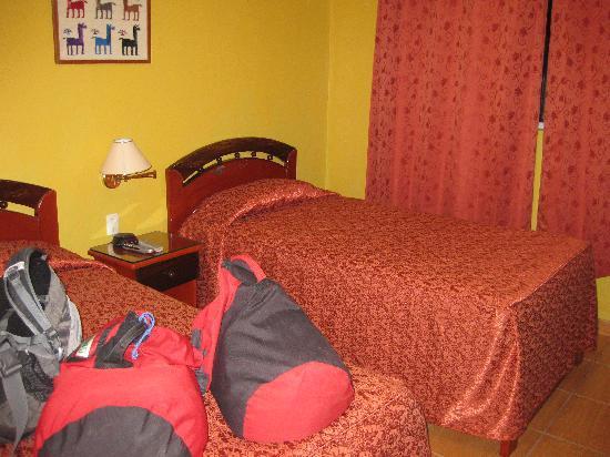 Plaza Andina Machupicchu: Double Room