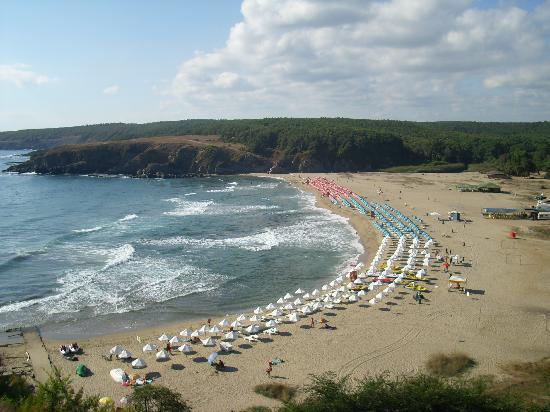 Bella Vista Beach Club : Der Blick von der Sonnentarrasse