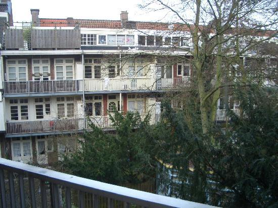 Blaine's B&B: View from the Balcony.