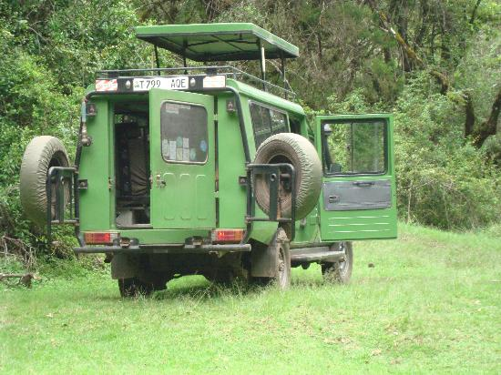 Ngurdoto Lodge: transportation within the park