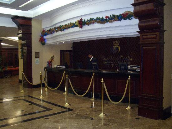 Casa Dann Carlton Hotel & SPA: Recepcion