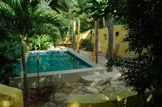 Las Mananitas: Coin piscine