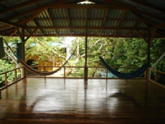 Casa Dos Rios: Yoga, movement, and relaxation deck