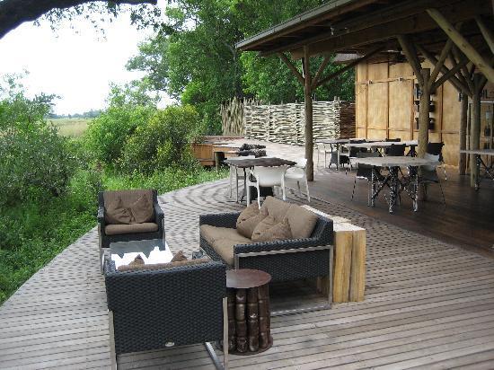 andBeyond Xudum Okavango Delta Lodge: Xudum lodge