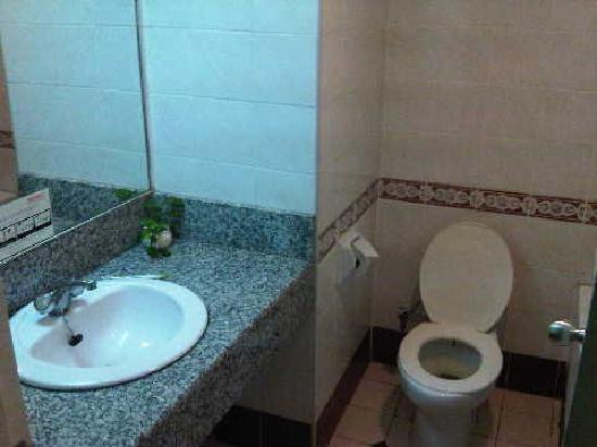 Hotel Grand Continental Kuching : The horrifying bathroom
