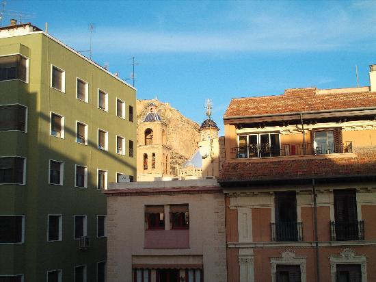 Hotel Rambla: View from room