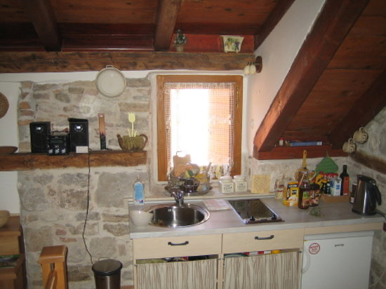 Salvezani Apartment: kitchen in dayroom, app.no 2