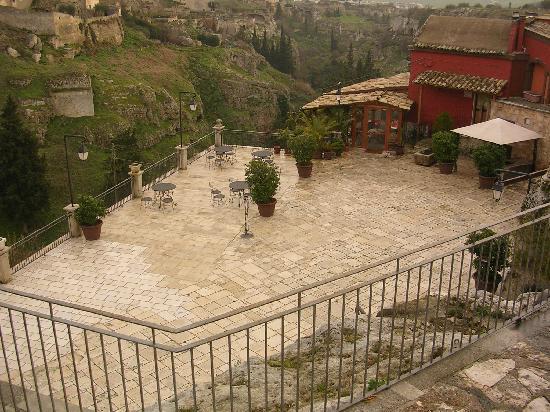 Resort Madonna della Stella : Una delle terrazze panoramiche