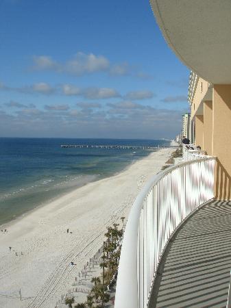เลกาซี่บายเดอะซี: View from balcony (West) on 1/1/10