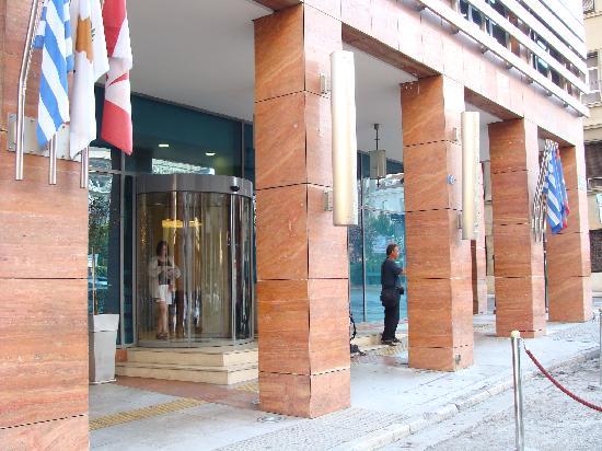 Kaningos 21 Hotel: Entrée de l'hôtel